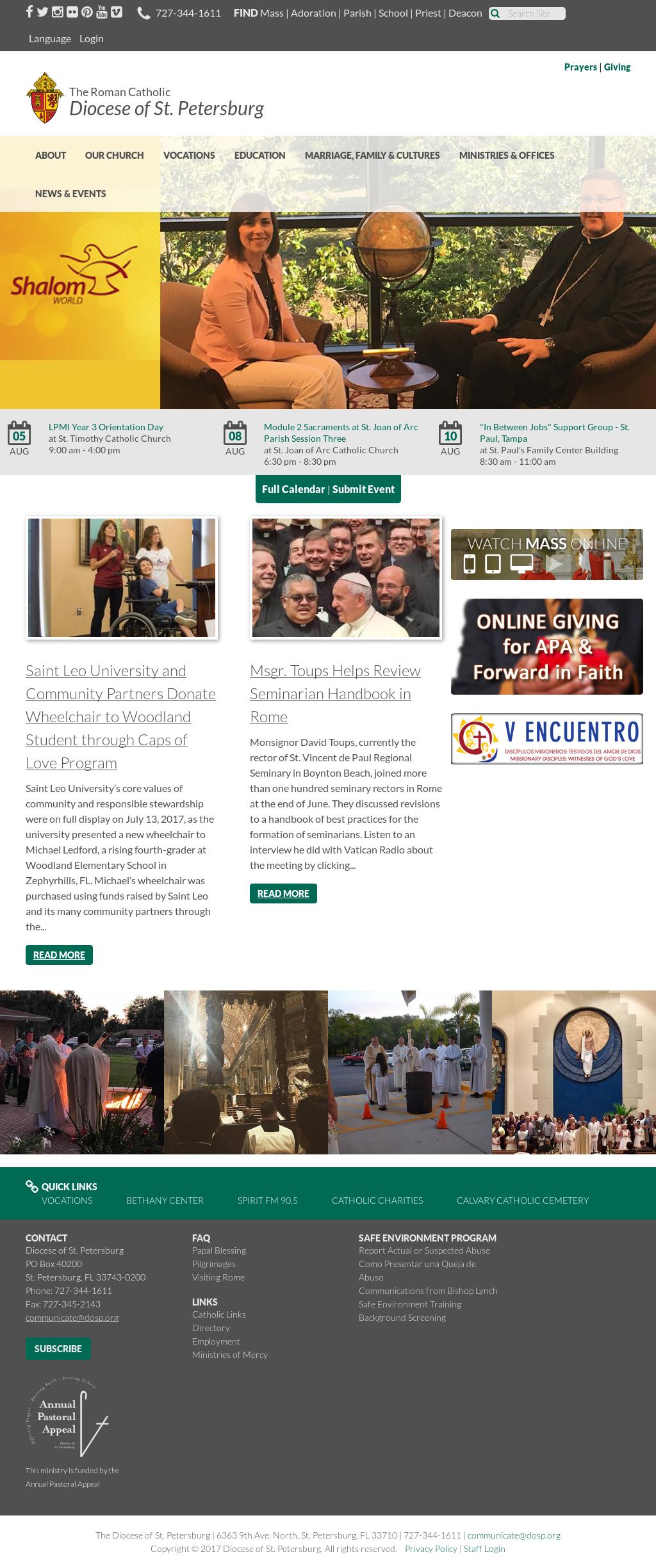 diocese of st petersburg fl