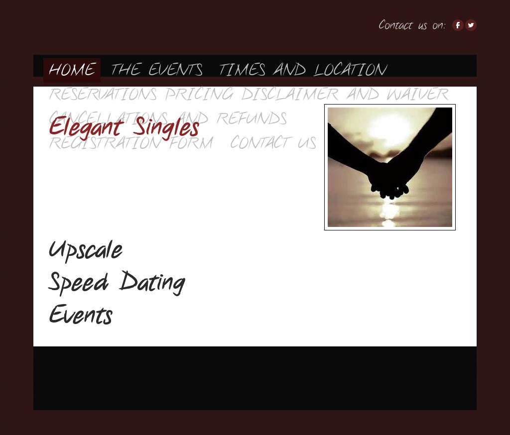 Speed dating origins