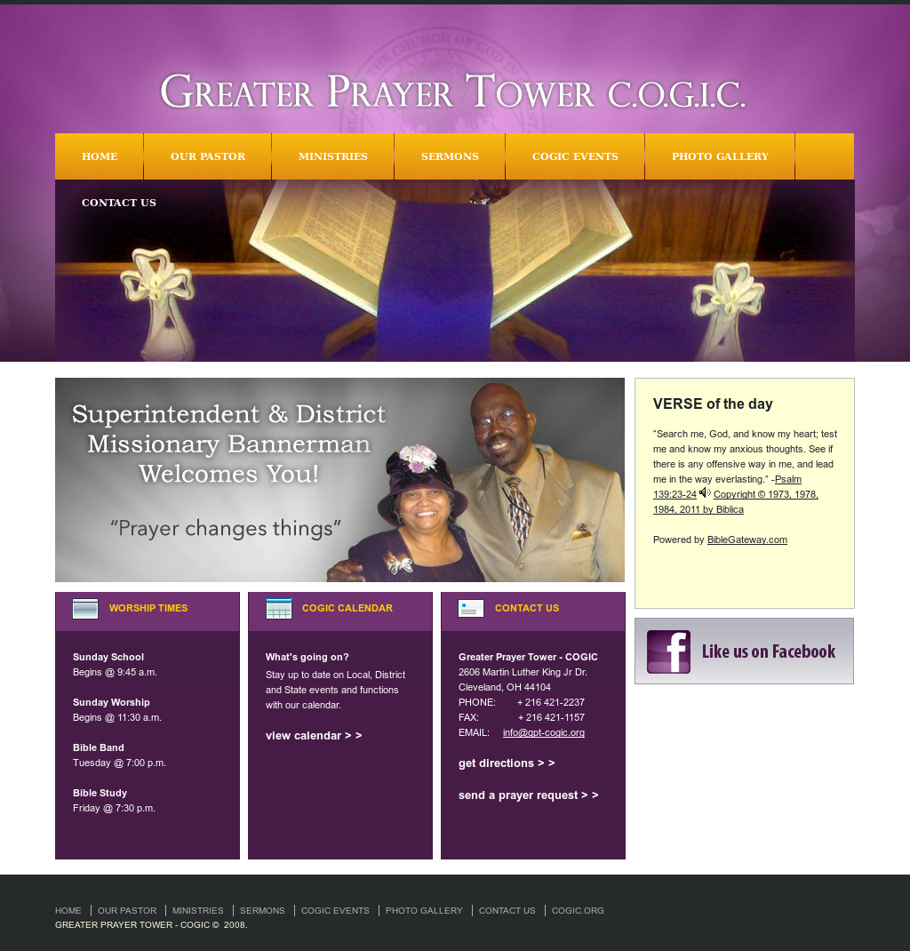 Greater Prayer Tower C o g i c Competitors, Revenue and Employees