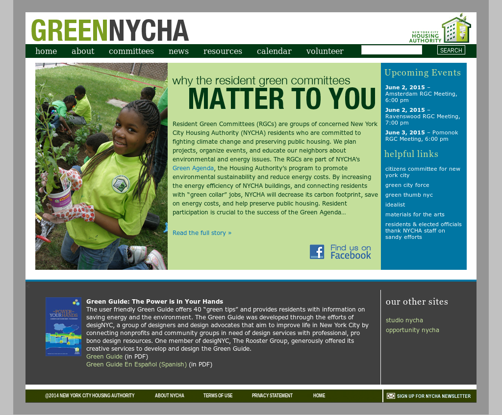 Resident Green Committees (Nycha) Competitors, Revenue and Employees