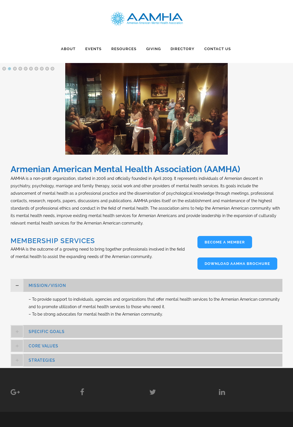Armenian American Mental Health Association Aamha Competitors