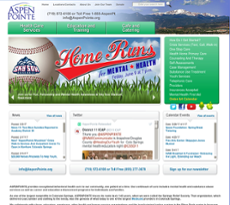 Aspenpointe website history