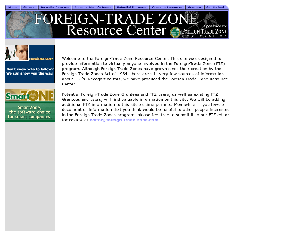 Foreign-Trade Zone Resource Center Competitors, Revenue and