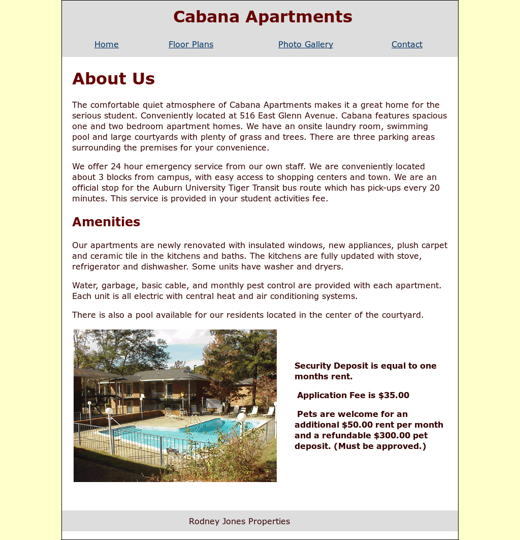 Cabana Apartments Compeors Revenue And Employees Owler Company Profile