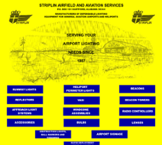 Striplinair website history