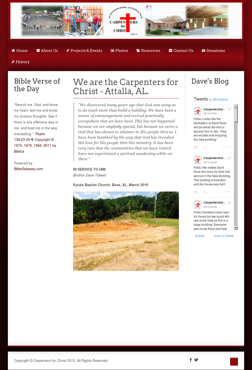 Carpenters For Christ Competitors, Revenue and Employees - Owler