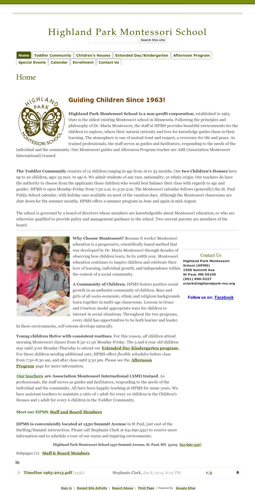 Highland Park Montessori School - Hpms Competitors, Revenue