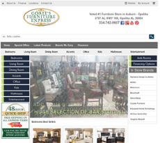 Goreeu0027s Furniture Express Website History