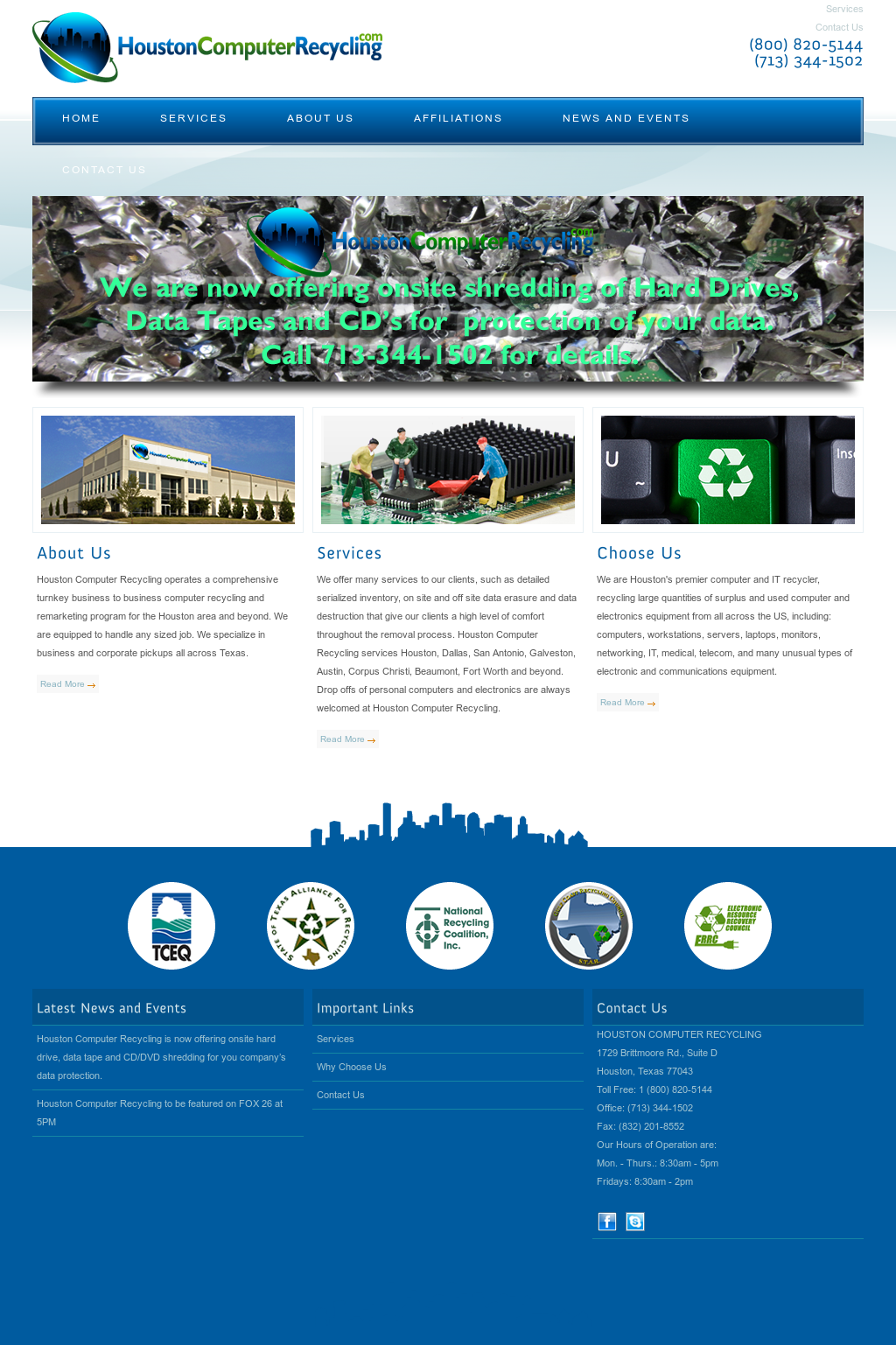 Houstoncomputerrecycling Competitors, Revenue and Employees - Owler