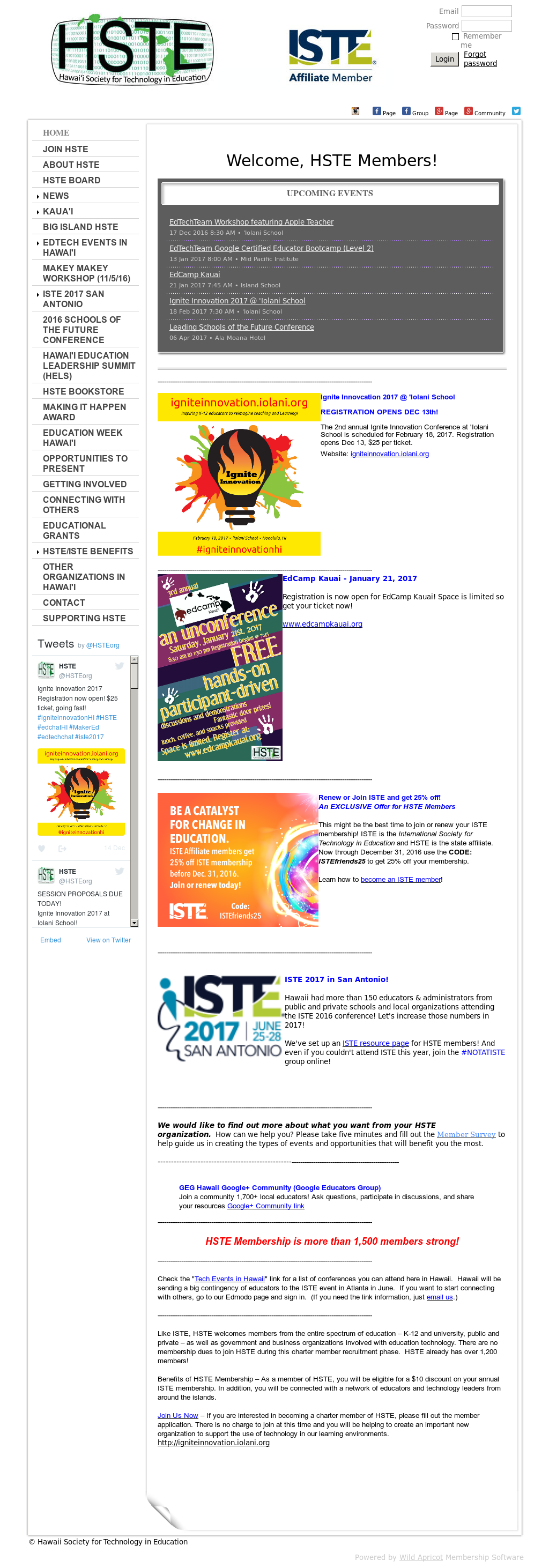Hste Hawaii Society For Technology In Education petitors Revenue and Employees Owler pany Profile