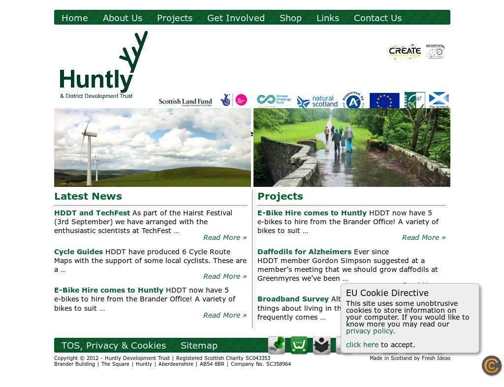 Huntlydevelopmenttrust Competitors, Revenue and Employees