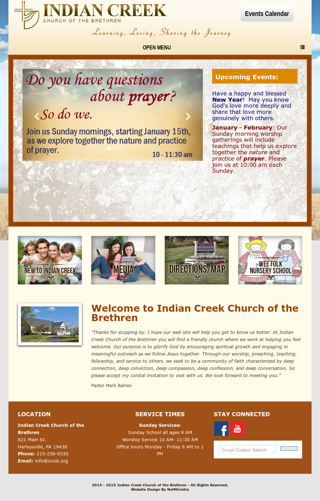 Indian Creek Church Of The Brethren Competitors, Revenue and