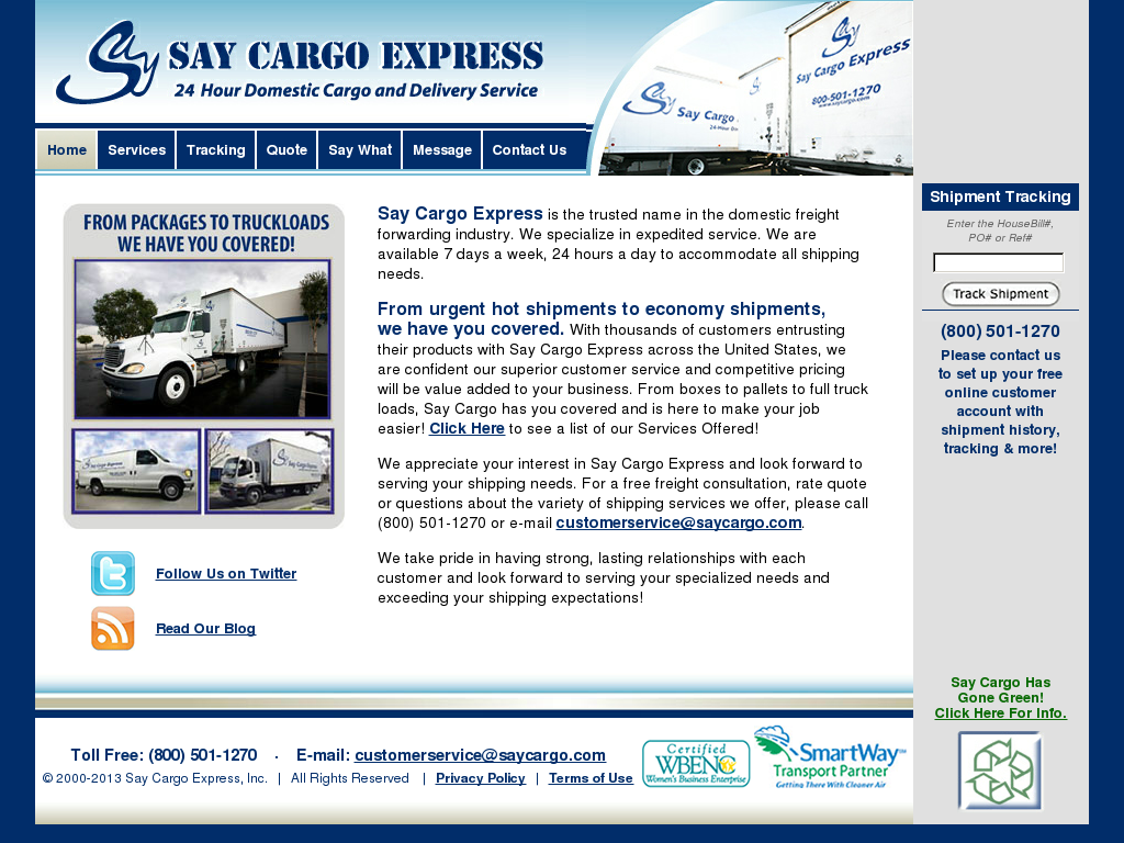 Say Cargo Competitors, Revenue and Employees - Owler Company Profile