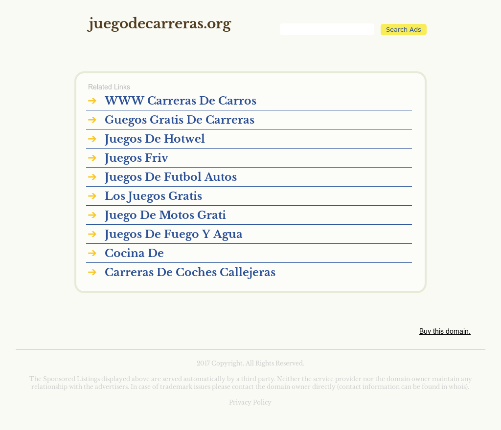 Juegodecarreras Competitors Revenue And Employees Owler Company
