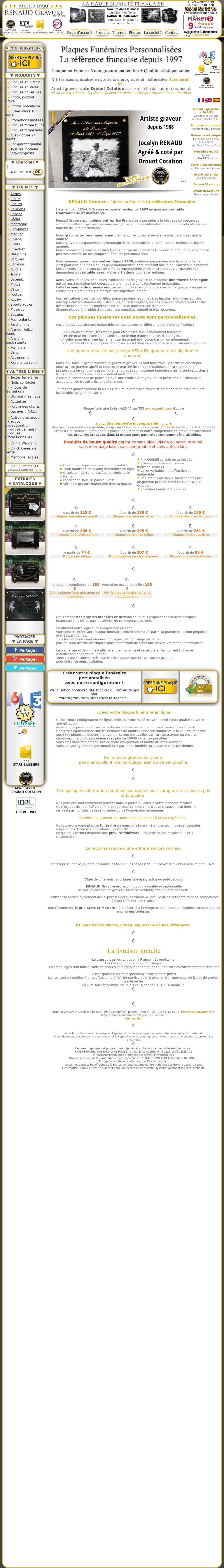 Des Sols Et Des Murs Avis plaque funeraire competitors, revenue and employees - owler