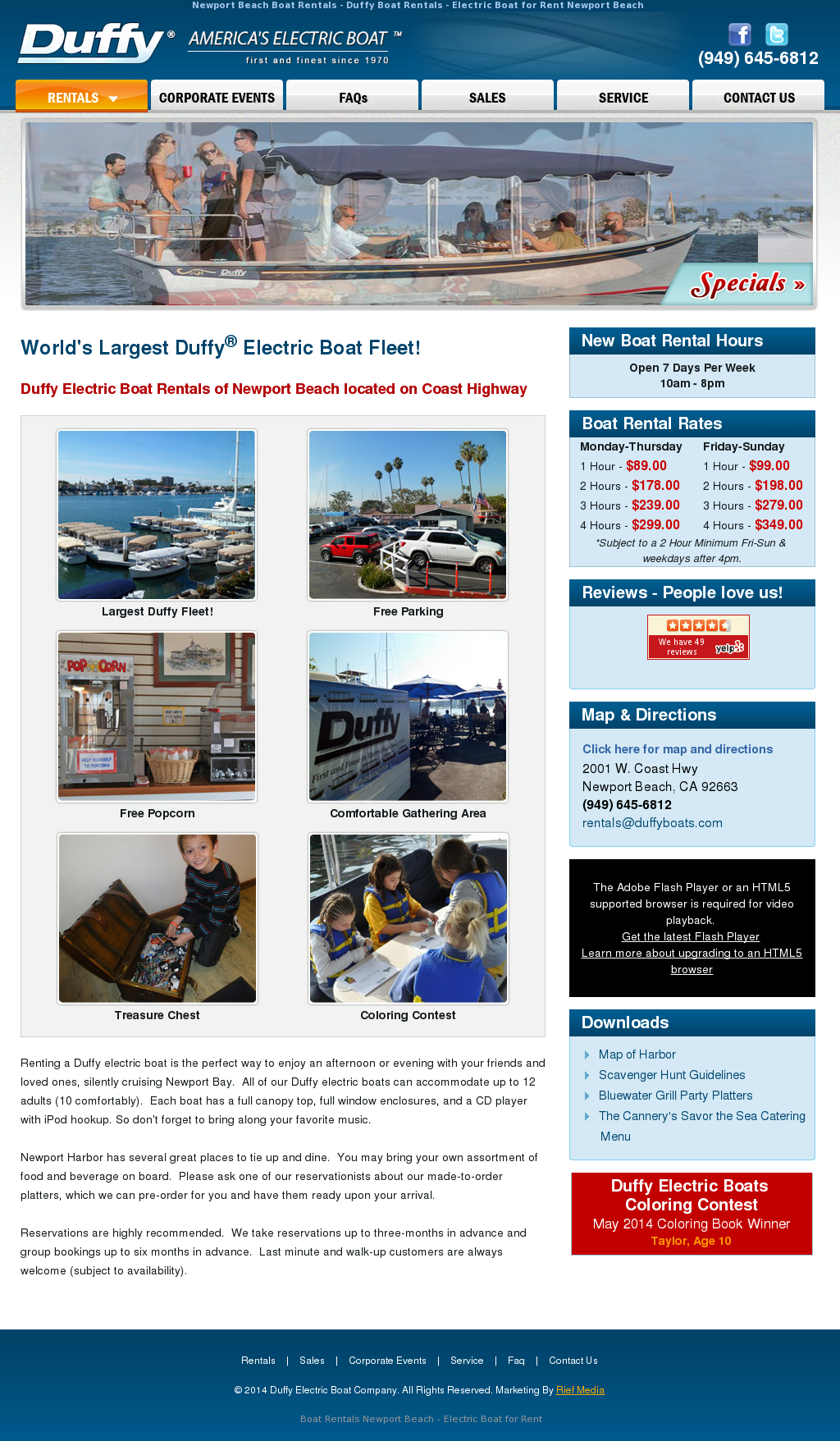 Duffy Electric Boat Competitors Revenue And Employees