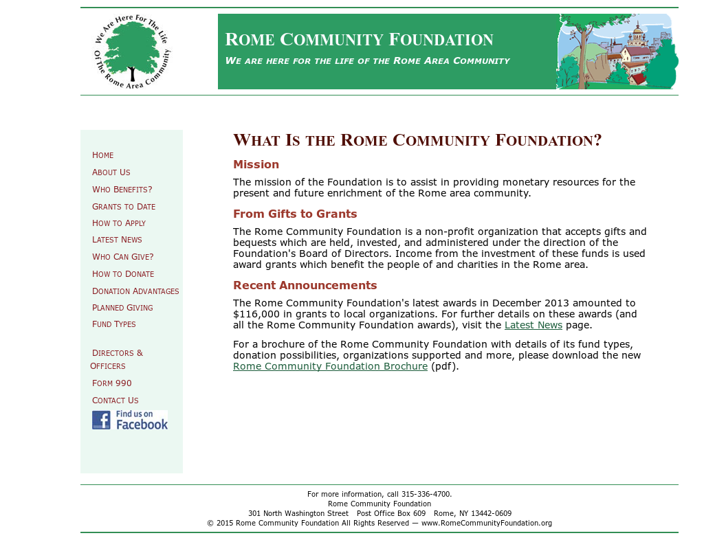 Rome Community Foundation Competitors Revenue And Employees Owler