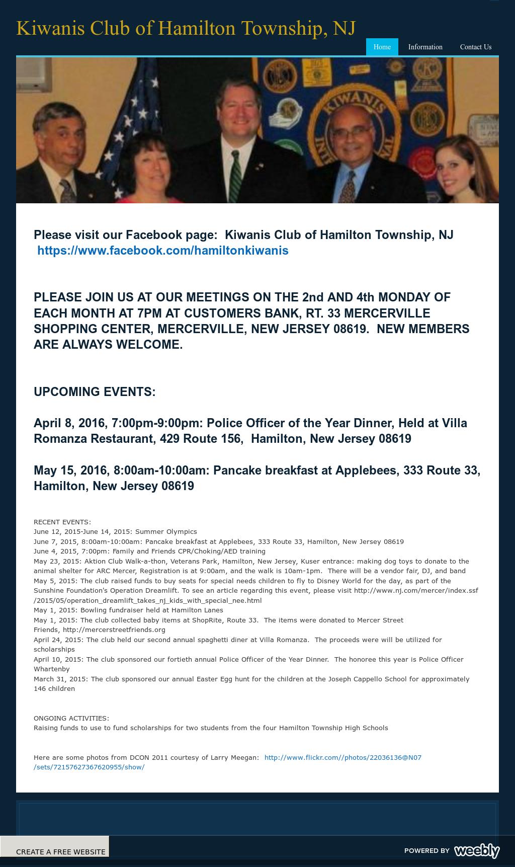 Kiwanis Club Of Hamilton Township, Nj Competitors, Revenue and