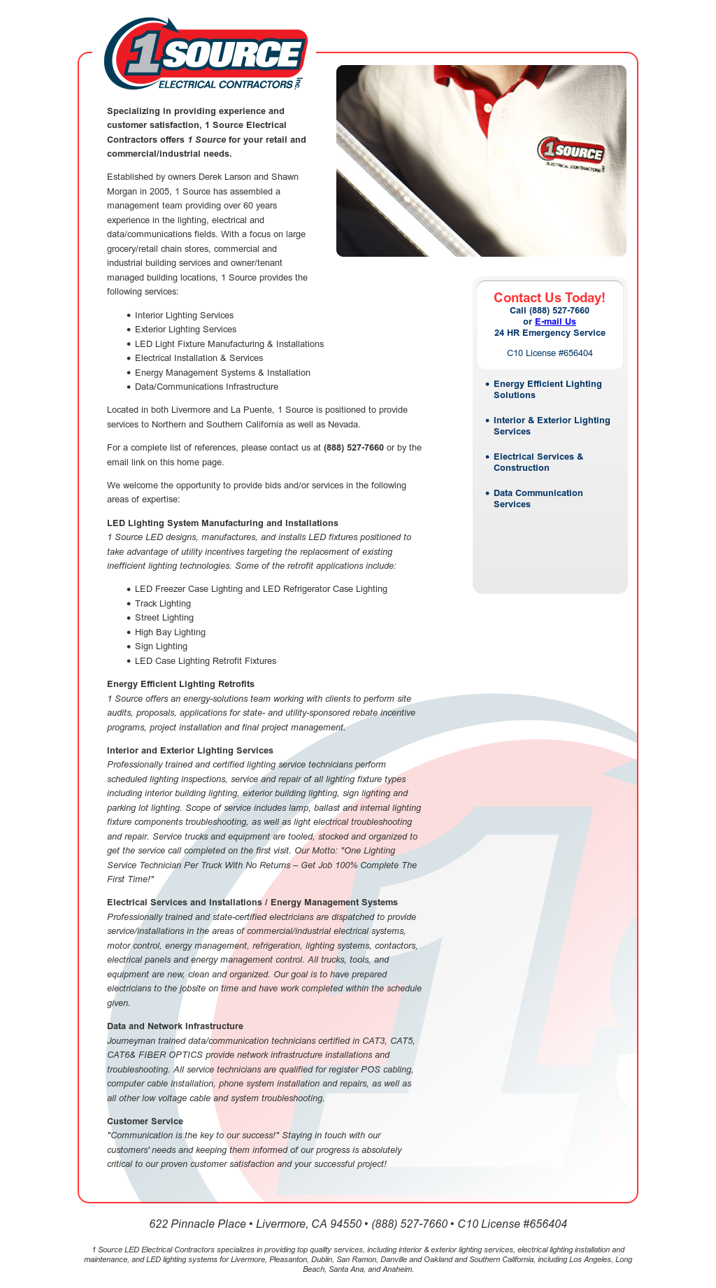 1 Source Electrical Contractors Competitors, Revenue and Employees ...