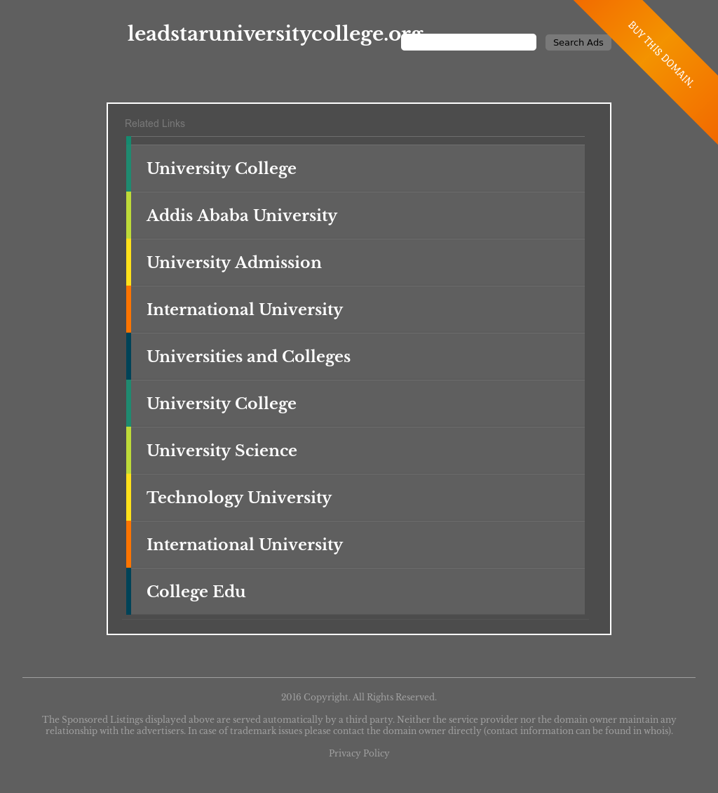 Leadstar University College Competitors, Revenue and Employees