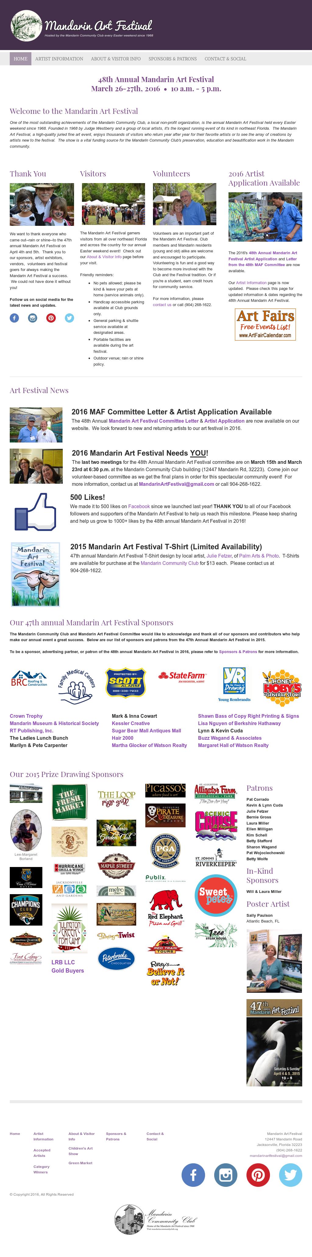 Mandarin Art Festival Competitors, Revenue and Employees