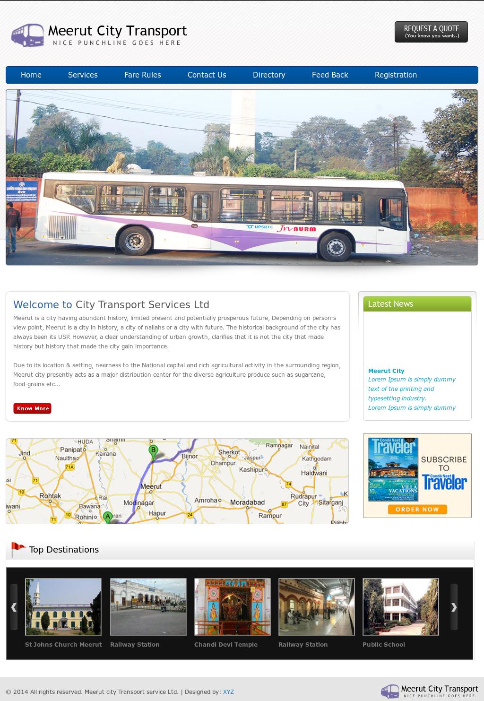 Meerut City Transport Service Competitors, Revenue and