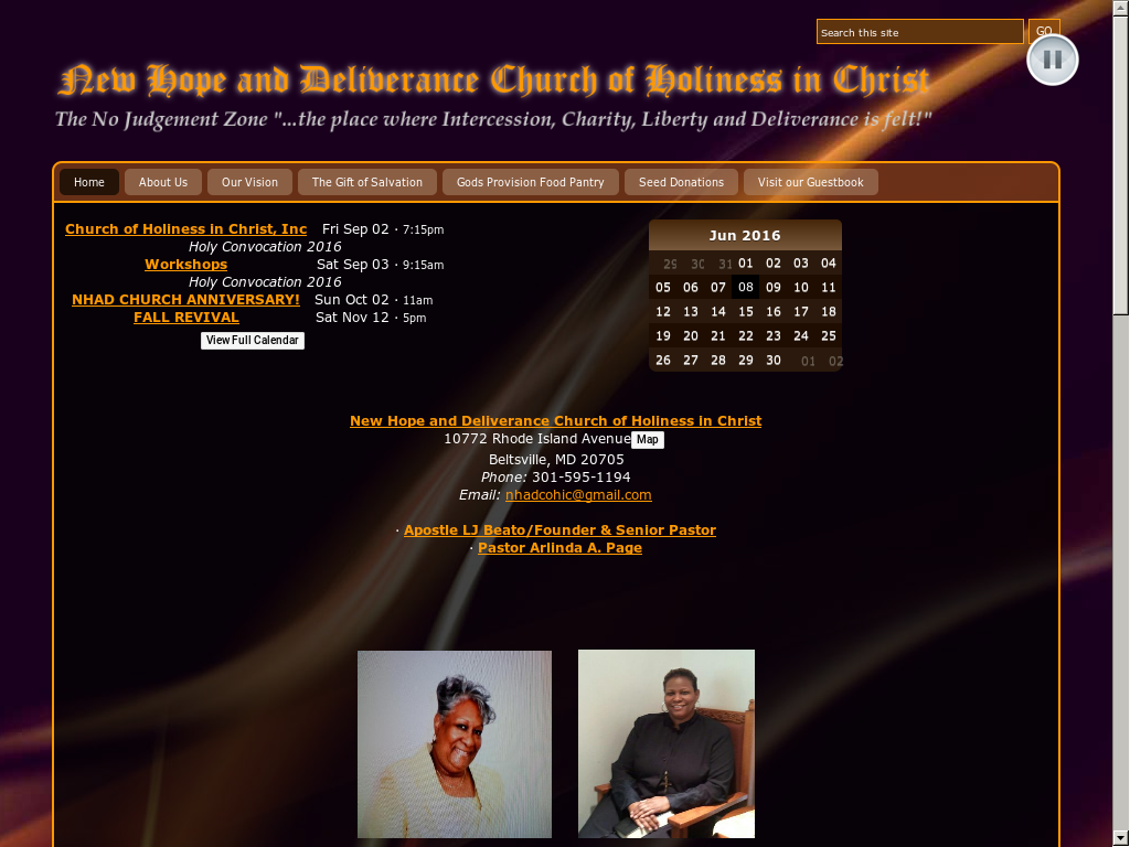 New Hope And Deliverance Church Of Holiness In Christ Competitors