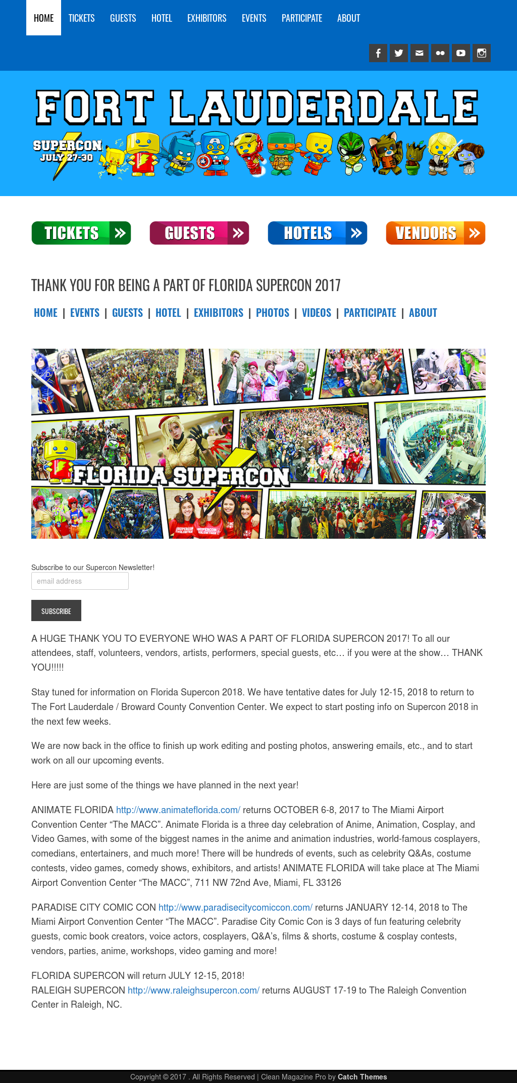 Florida Supercon Competitors, Revenue and Employees - Owler