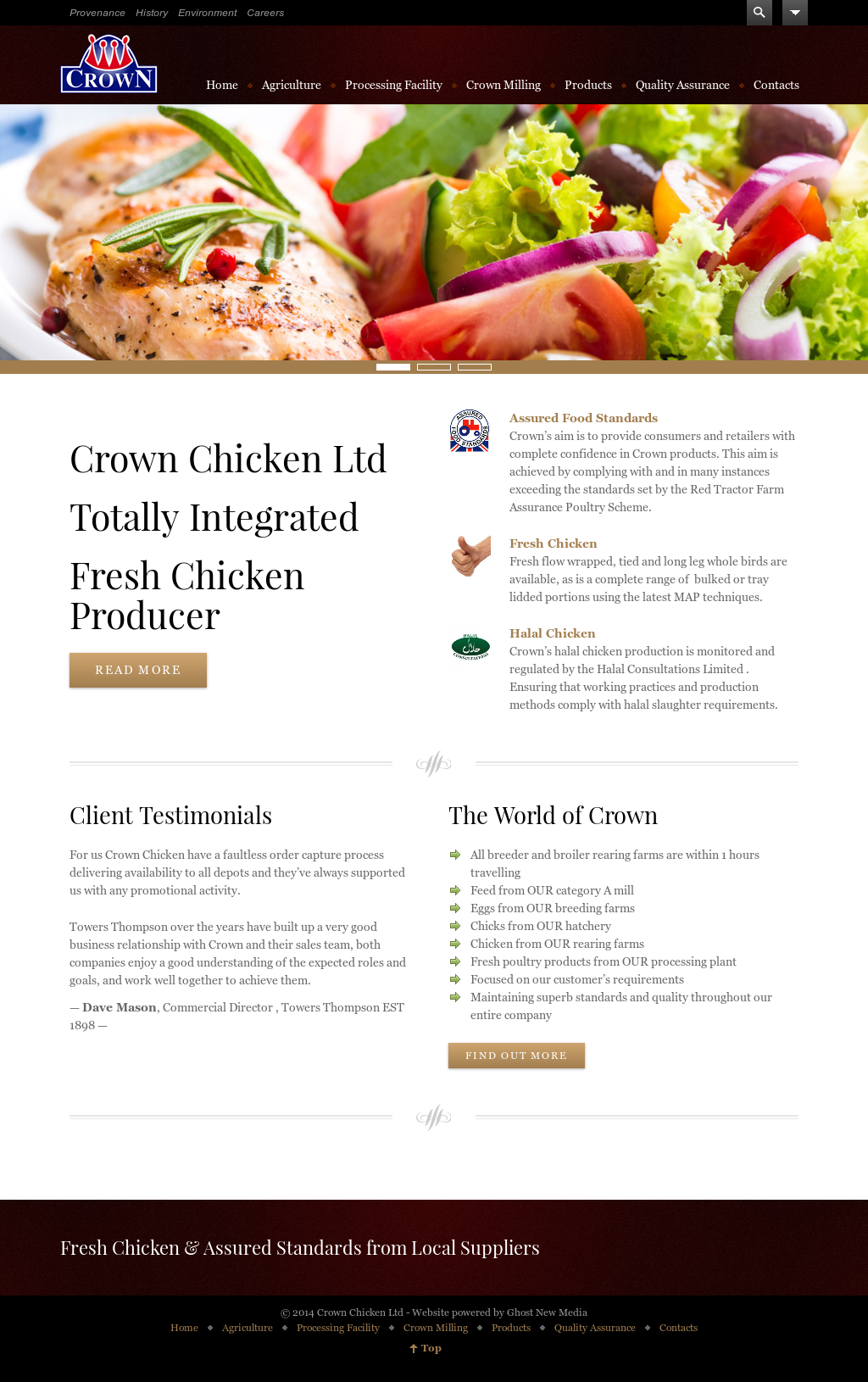 Crown Chicken Competitors, Revenue and Employees - Owler