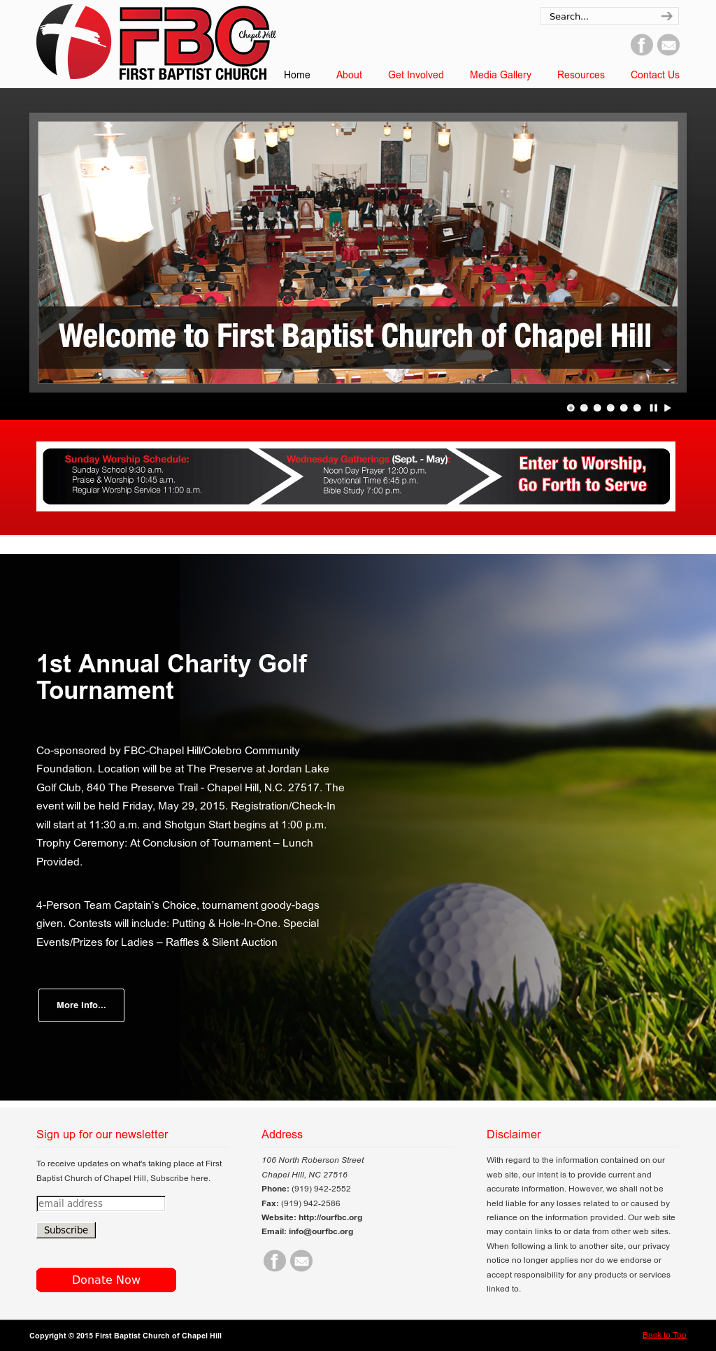 First Baptist Church Of Chapel Hill Competitors Revenue And