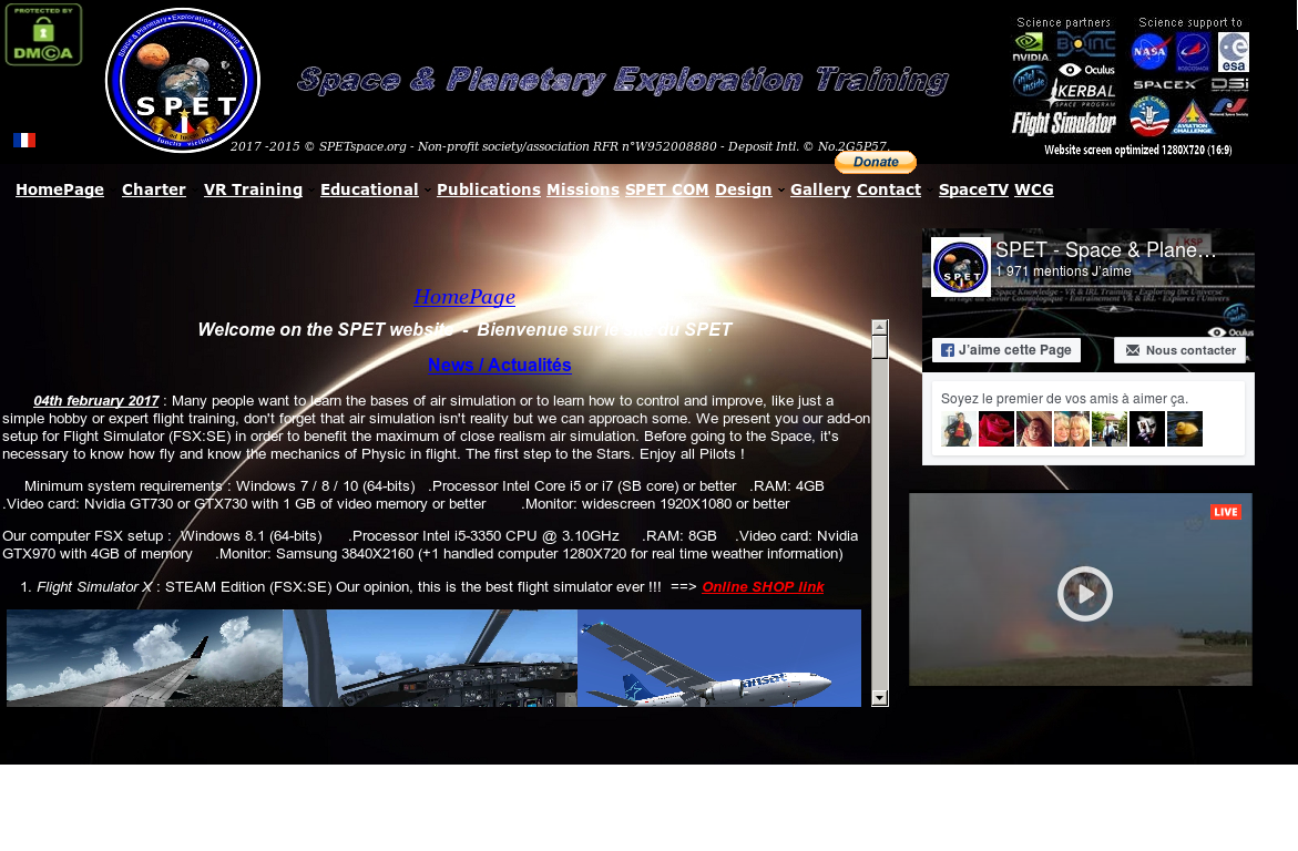 Spet - Space & Planetary Exploration Training Competitors