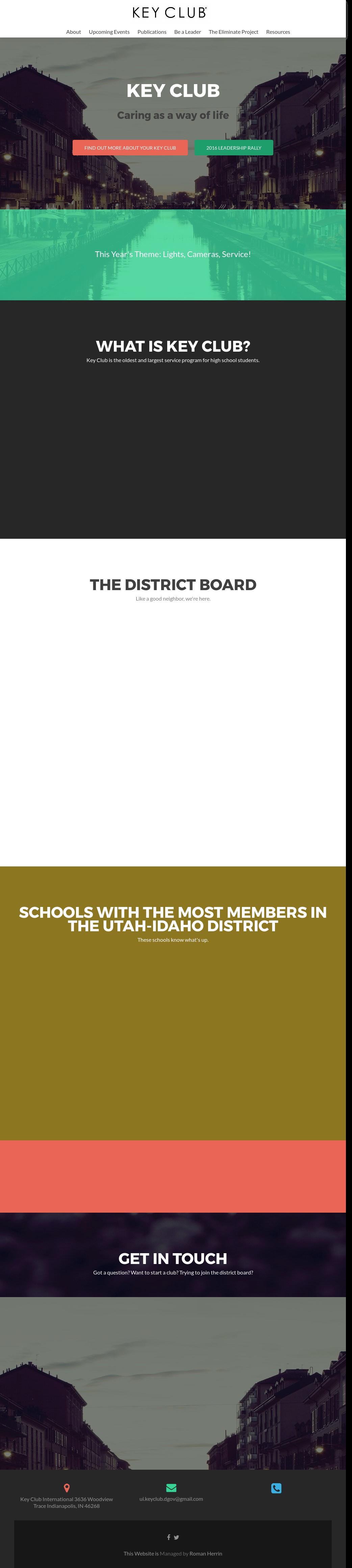 Utah-idaho District Of Key Club International Competitors, Revenue