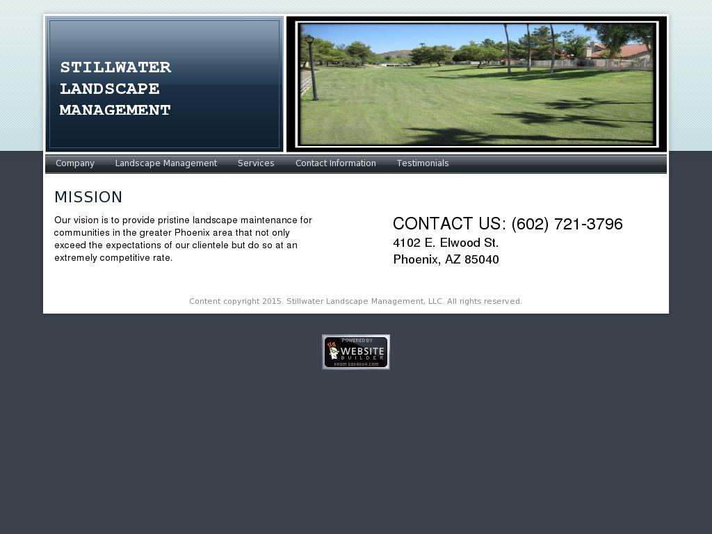 Stillwater Landscape Management Competitors, Revenue and