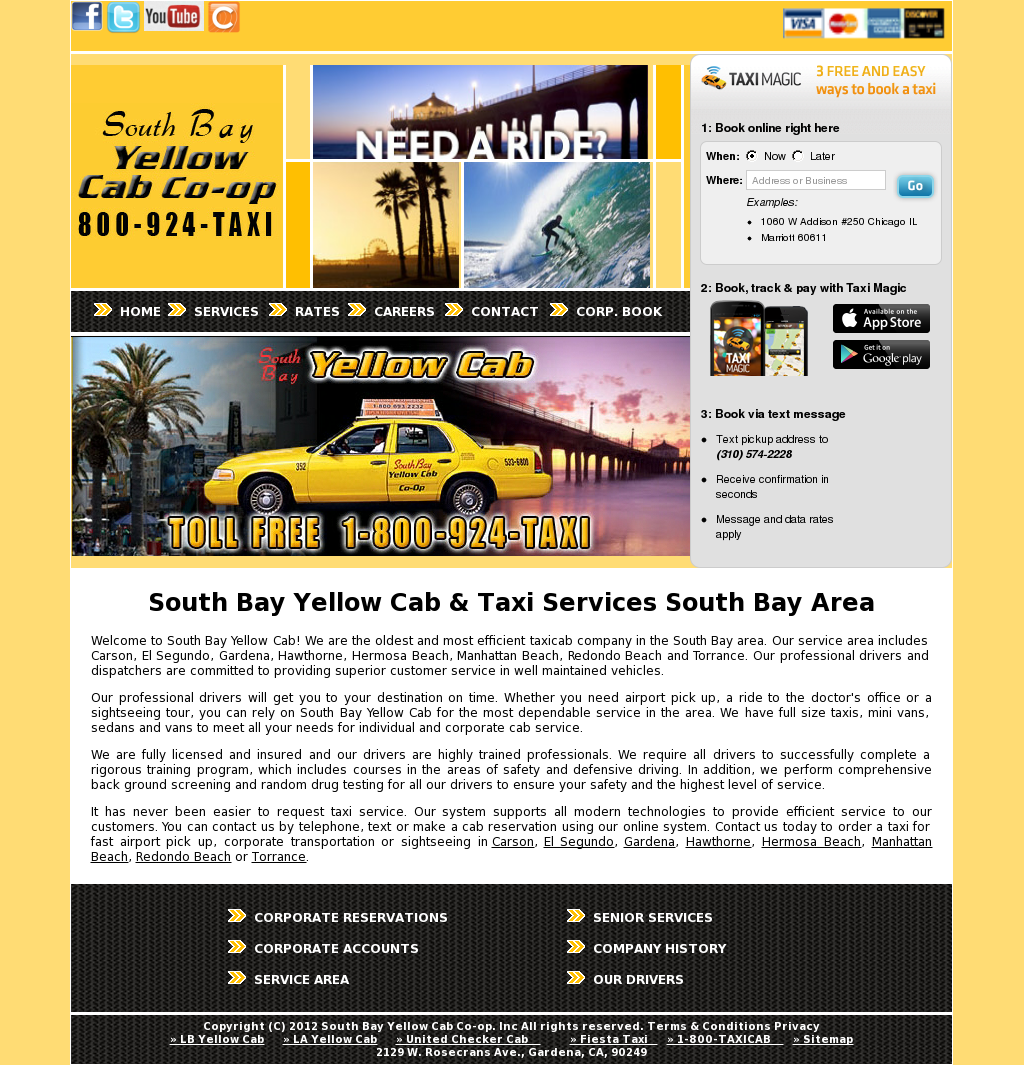 South Bay Yellow Cab Competitors, Revenue and Employees - Owler