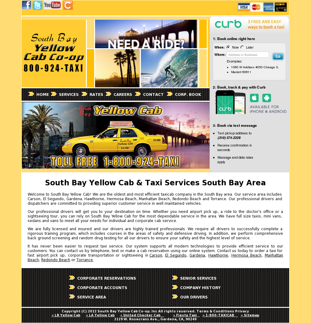 South Bay Yellow Cab Competitors, Revenue and Employees