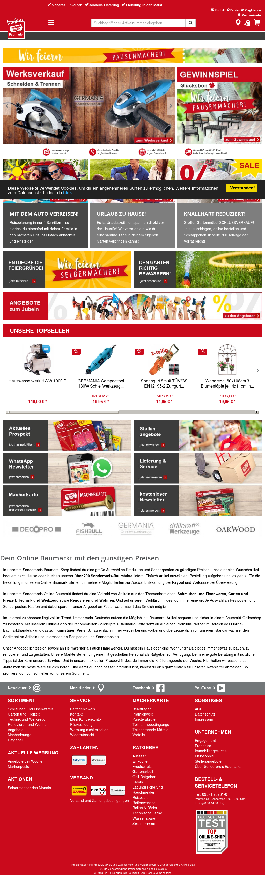 sonderpreis baumarkt competitors, revenue and employees - owler
