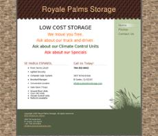 Royale Palms Storage Website History
