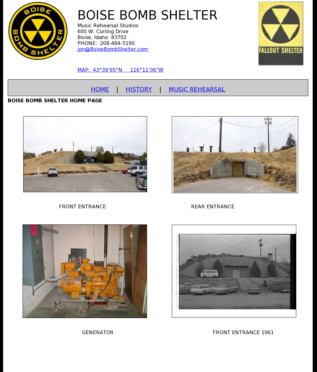 Boise Bomb Shelter Competitors, Revenue and Employees