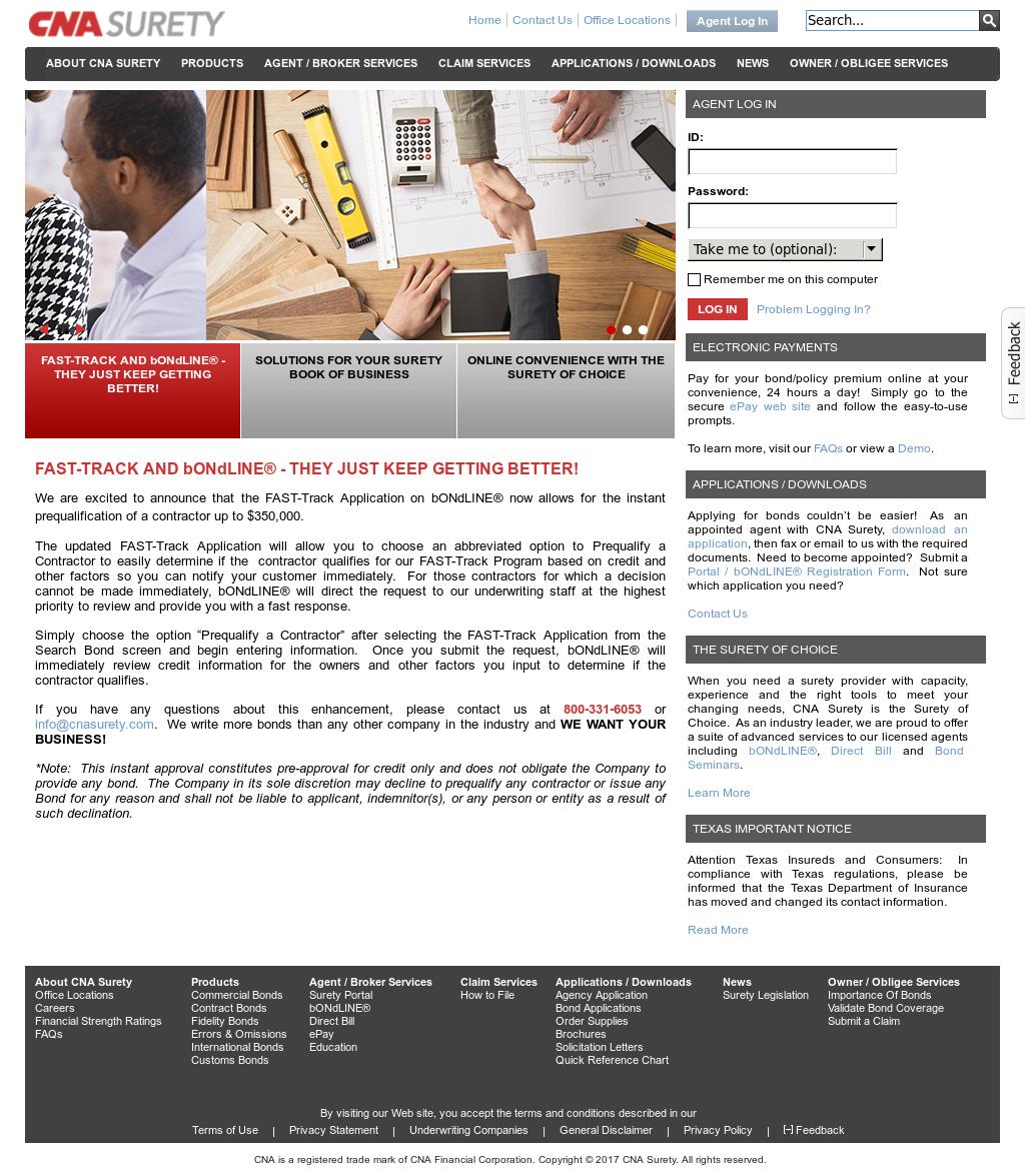 cna bondline CNA Surety Competitors, Revenue and Employees - Owler Company Profile