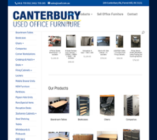 Canterbury Used Office Furniture Website History