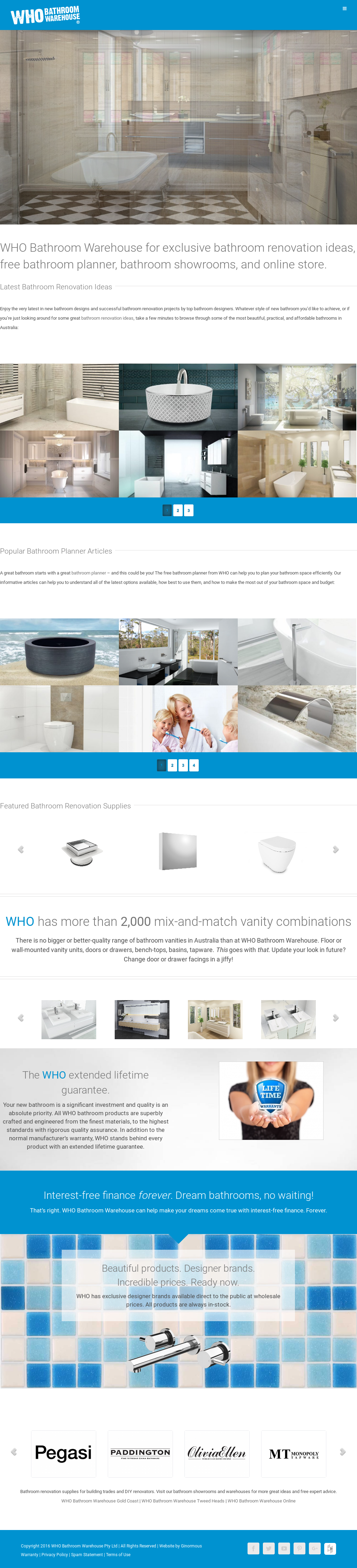 Who Bathroom Warehouse Compeors