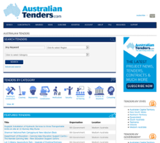 Australian Tenders Competitors, Revenue and Employees