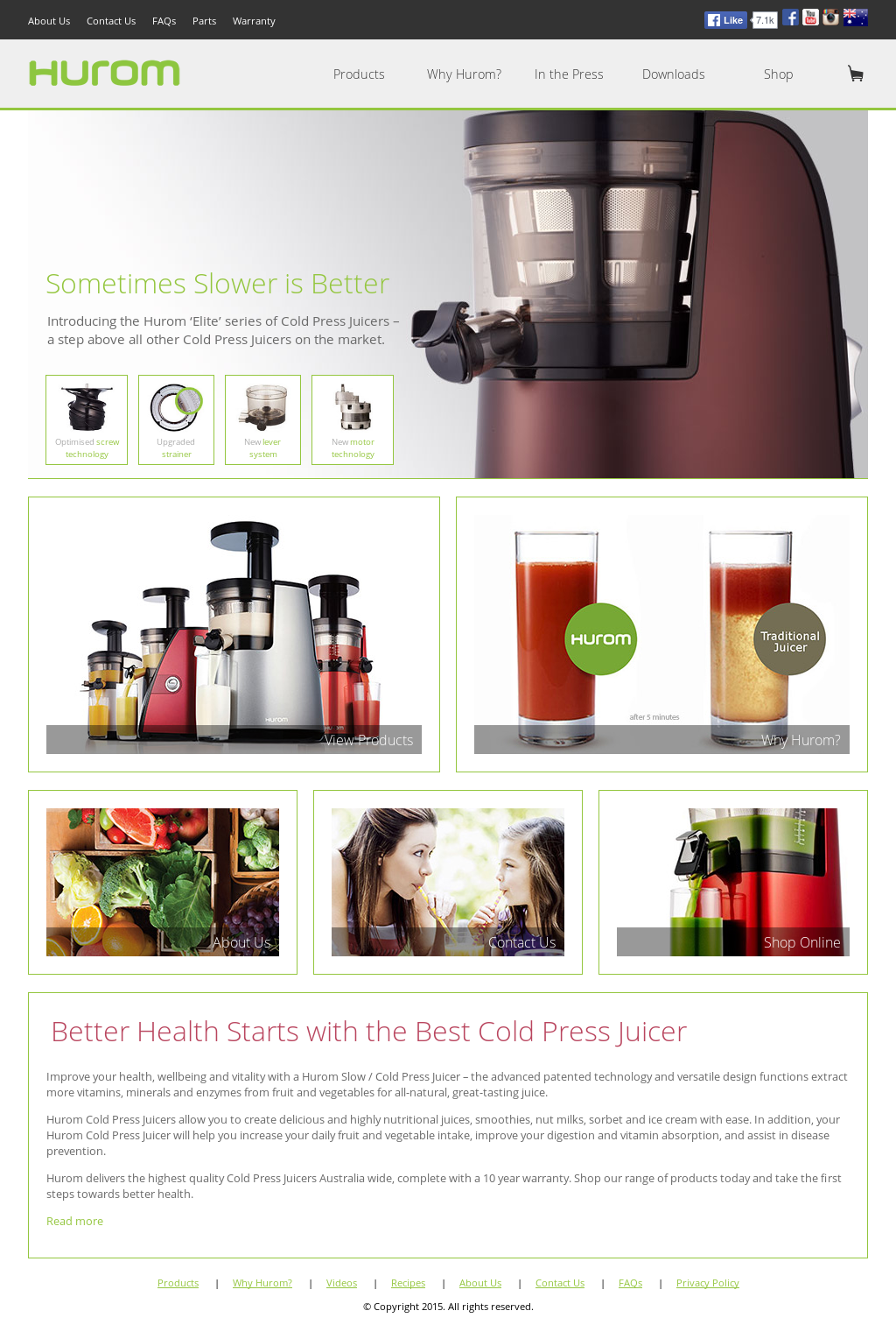 Hurom slow juicer competitors revenue and employees owler company hurom slow juicer website history ccuart Choice Image