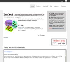 Exhibit One website history