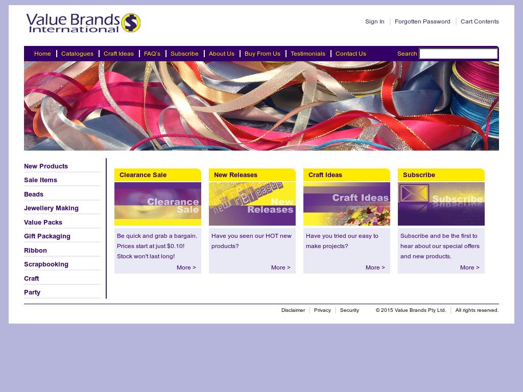 Value Brands Company Profile