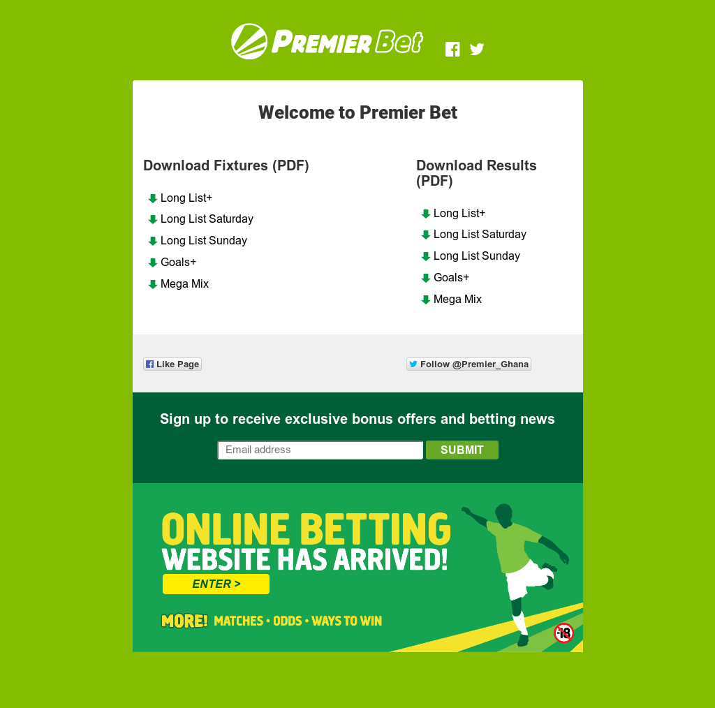 Premier Betting, Solidere Ghana Competitors, Revenue and