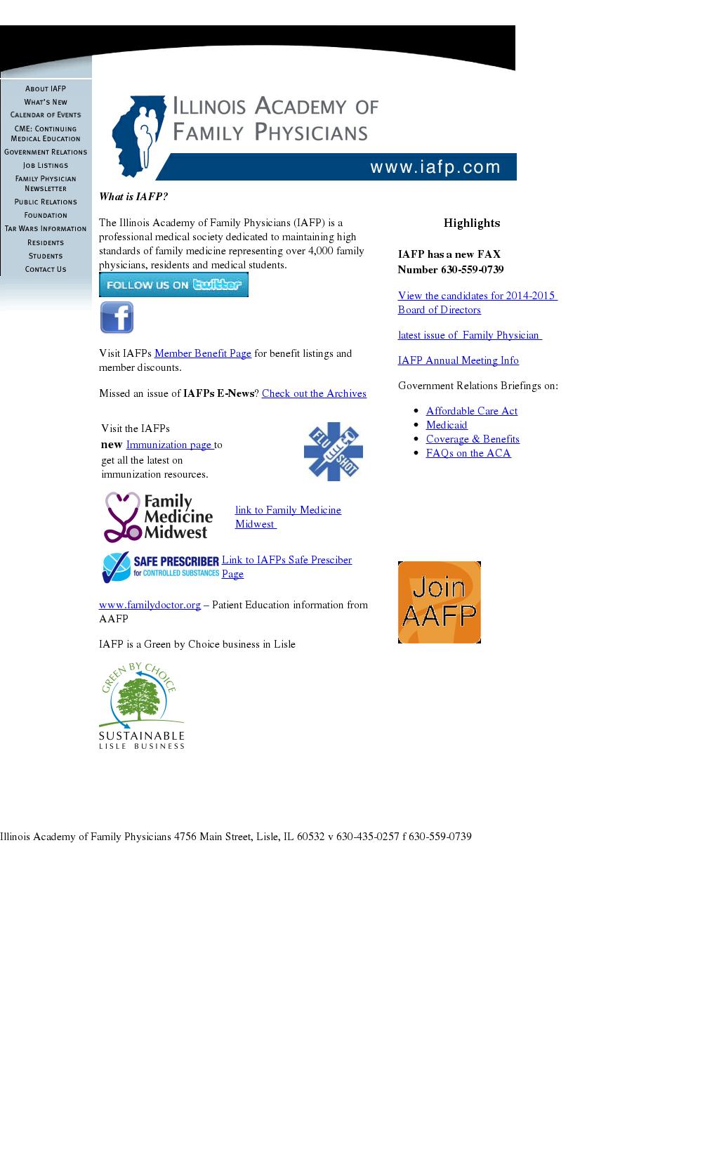 Iafp Webinars