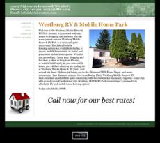 Westburg Mobile Home Rv Park Website History