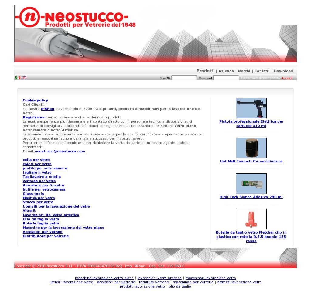 Il Mastice Del Vetraio.Neostucco Srl Competitors Revenue And Employees Owler Company Profile
