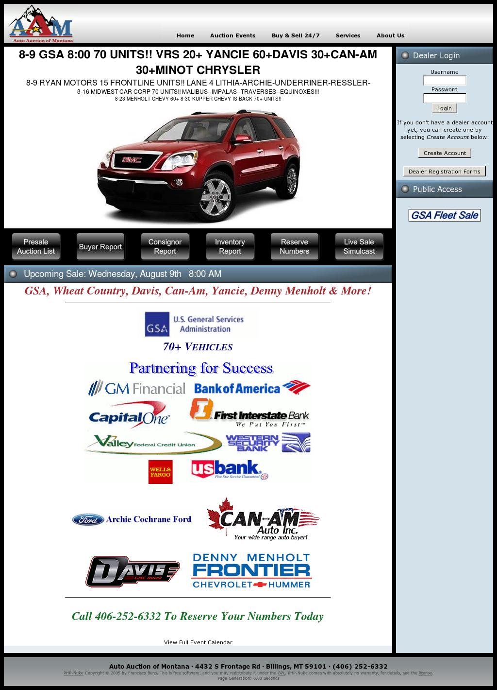 Auto Auction Associates Of Montana Competitors, Revenue and